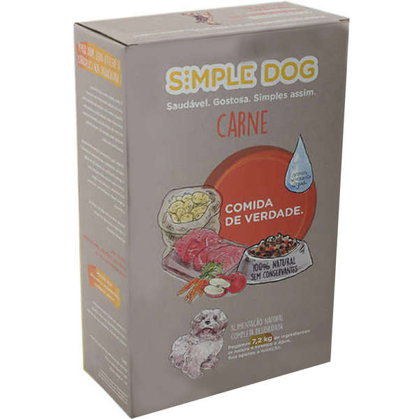 Simple Dog Carne Adulto - 440g 1