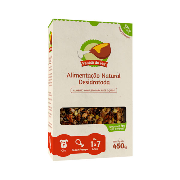 Panela do Pet Cão Adulto Sabor Frango - 450g 1