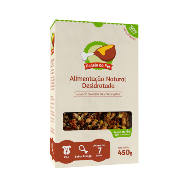 Panela do Pet Cão Sênior Sabor Frango - 450g 1