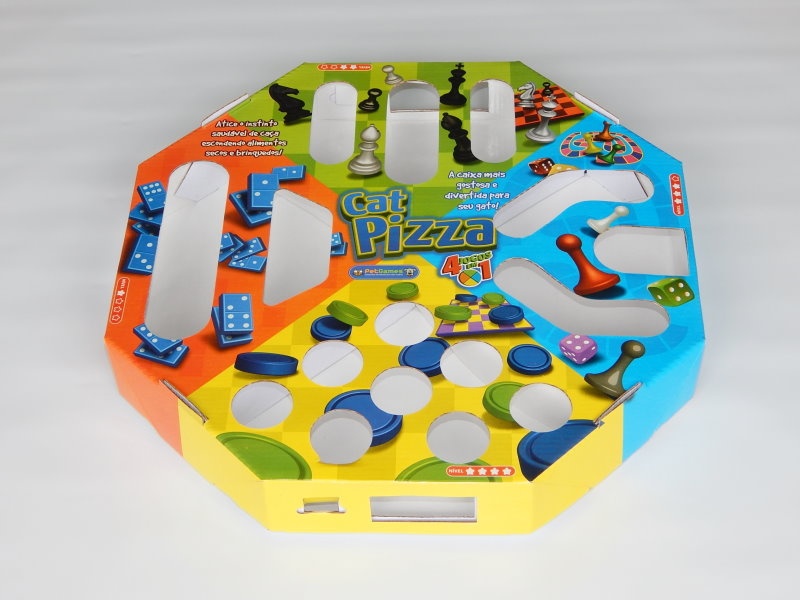 Brinquedo Interativo Pet Games Cat Pizza 1