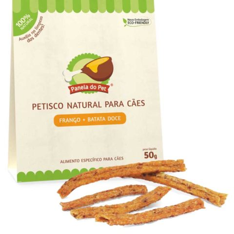 Petisco natural para cachorro Panela do Pet