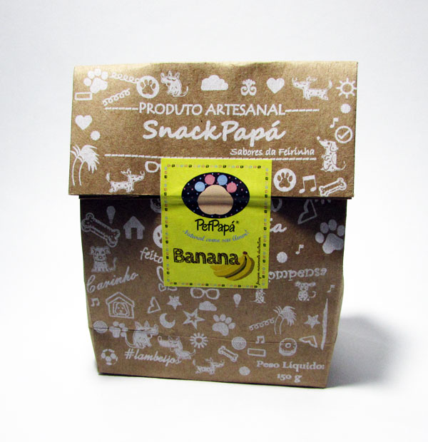 Petisco SnackPapá - Sabor Banana 150g 1