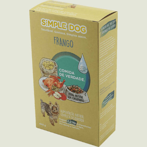 Simple Dog Cão Adulto Sabor Frango