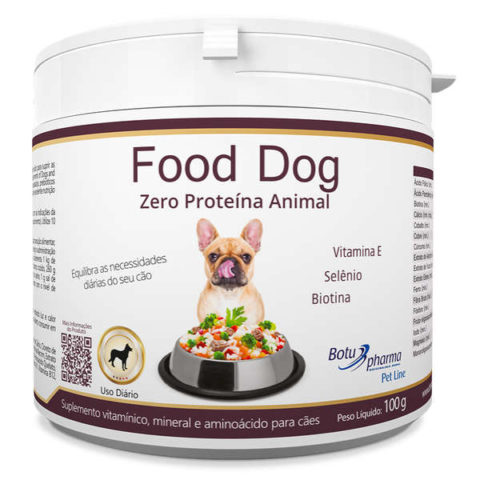 Suplemento Food Dog Zero Proteína Animal