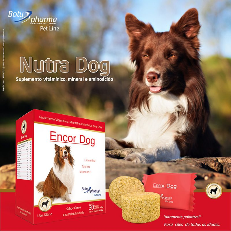 Suplemento para Cães Encor Dog Botupharma 30 Tabletes 3