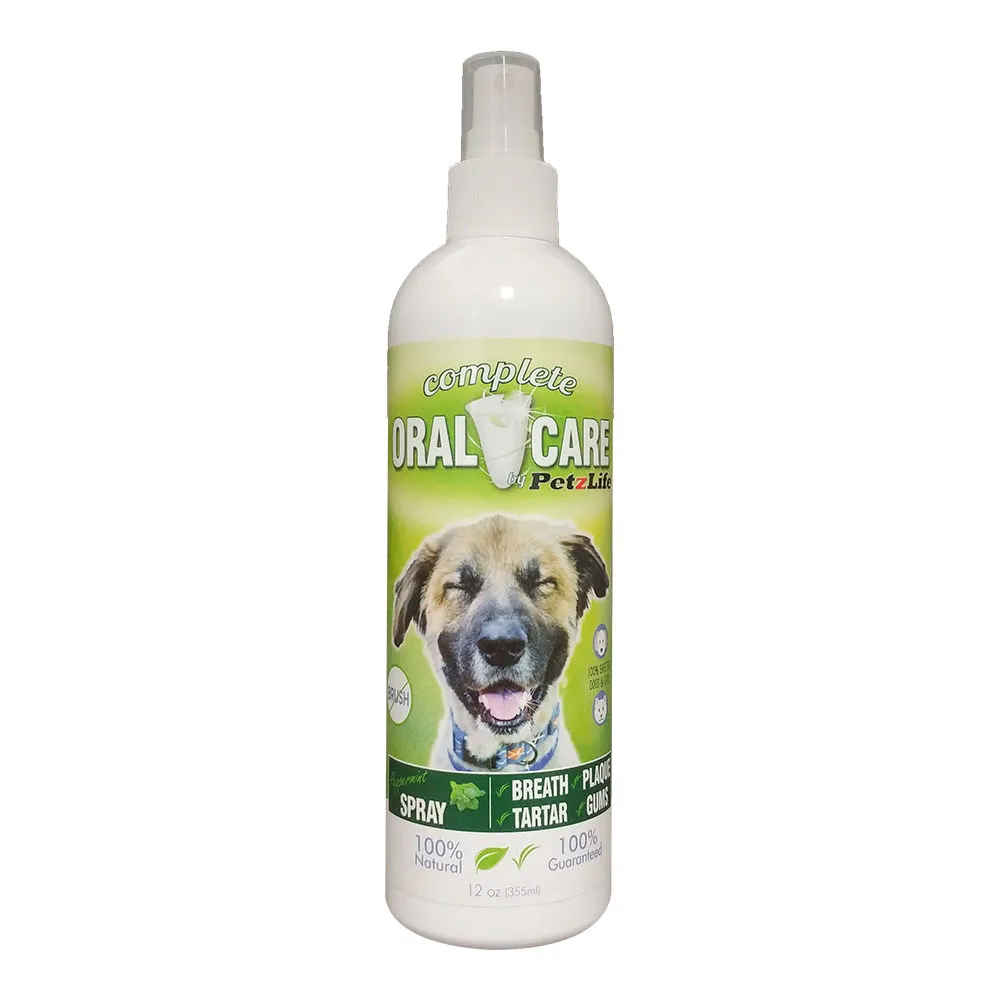 Cuidado Oral para cães e gatos PetzLife - Spray 354ml 1