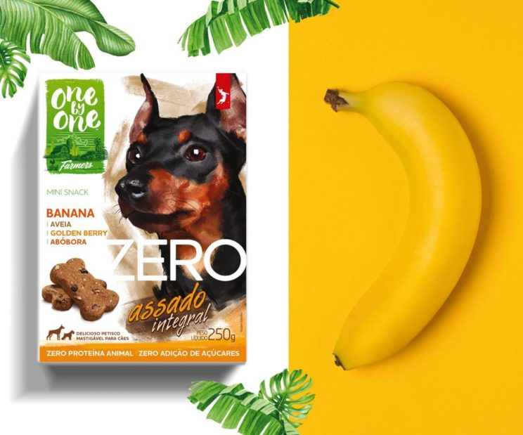 Petisco Spin Pet Zero Mini Snack Banana, Aveia e Abóbora 2