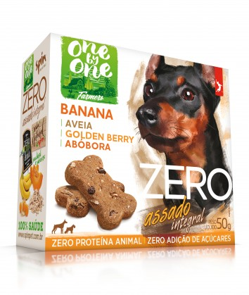 Petisco Spin Pet Zero Mini Snack Banana, Aveia e Abóbora 1