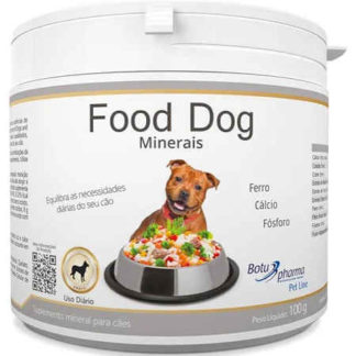 Suplemento Food Dog Minerais