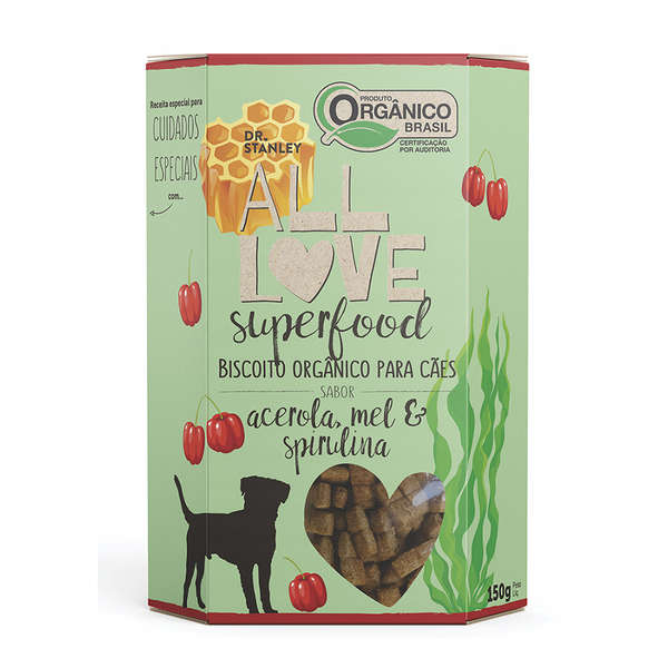 Biscoito Orgânico All Love Superfood Acerola