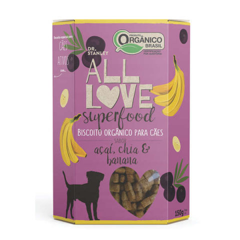 Biscoito Orgânico All Love Superfood Açaí