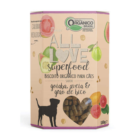 Biscoito Orgânico All Love Superfood Goiaba