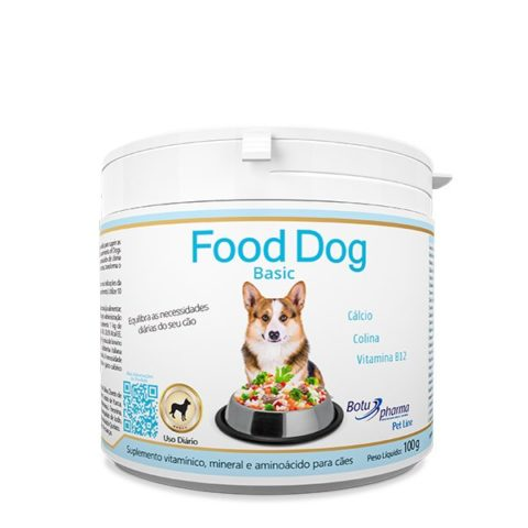 Suplemento Vitamínico Food Dog Basic