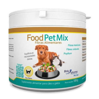 Suplemento Food pet mix fibras