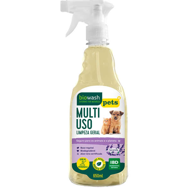 Multiuso Biowash Pet Lavanda - 650ml 1