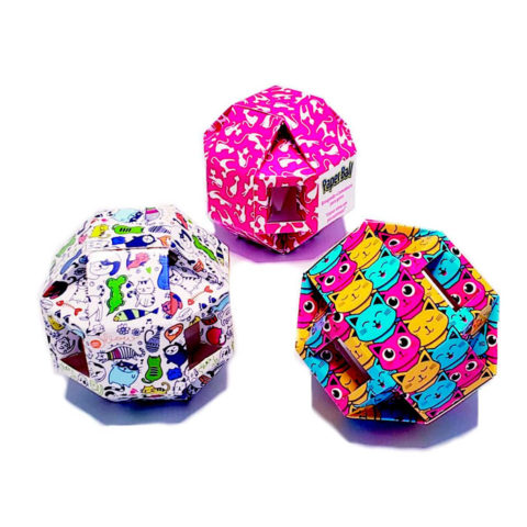 Paper Ball Pet Games
